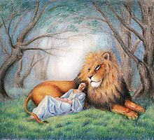 Aslan and Me by SolaGratia