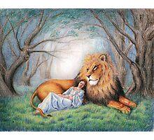 Aslan and Me Photographic Print