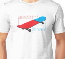 Skateboard infographic Unisex T-Shirt