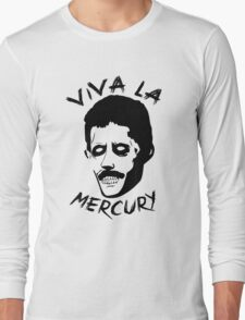 Zombie Freddie Mercury Long Sleeve T-Shirt