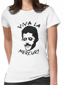 Zombie Freddie Mercury Womens Fitted T-Shirt