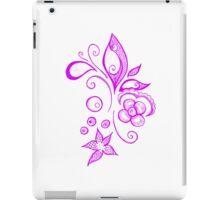 Pink Sea Leaves iPad Case/Skin