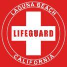 Laguna Beach California Lifeguard by 5thcolumn