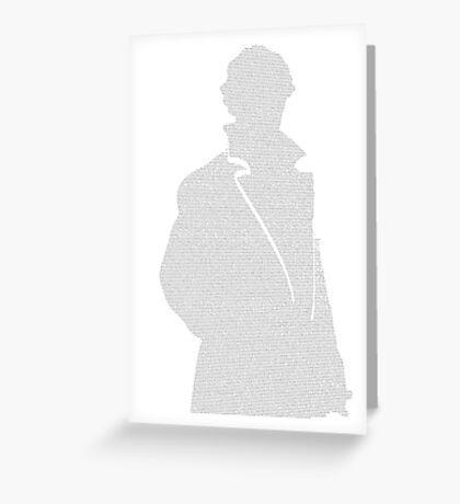 A Scandal in Bohemia - Sherlock Holmes Greeting Card