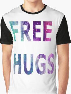 Galaxy Free Hugs Graphic T-Shirt