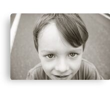 Boy portrait Mr K Canvas Print