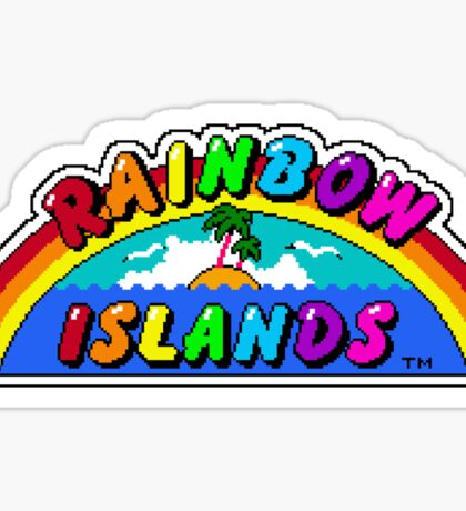 Rainbow Islands Sticker
