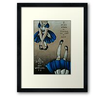 Urge to Jump - Prints, Mugs, and Cases Framed Print
