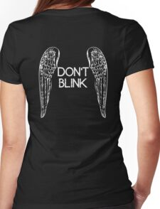 [Doctor Who] Don't Blink - Wings Womens Fitted T-Shirt