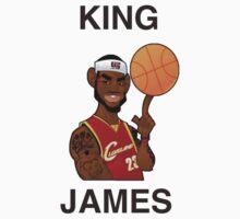 KING JAMES - Lebron James by bradsipek