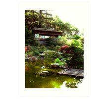 Hakone Gardens, Saratoga, CA 2013 Art Print