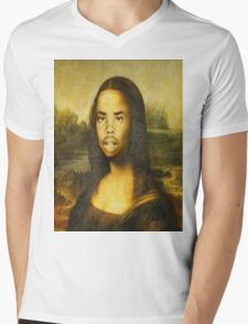 Earl Sweatshirt Mona Lisa Mens V-Neck T-Shirt