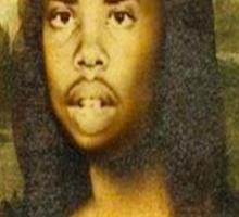 Earl Sweatshirt Mona Lisa Sticker