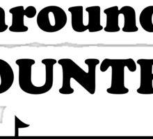 World Rotates Country 7BLA Sticker