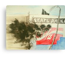 skate arena red hill Canvas Print
