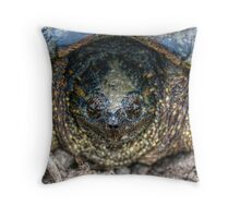 Snapping Turtle II Throw Pillow