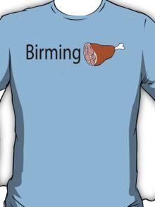 Birmingham Black text T-Shirt