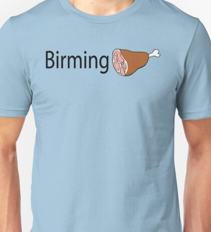 Birmingham Black text Unisex T-Shirt