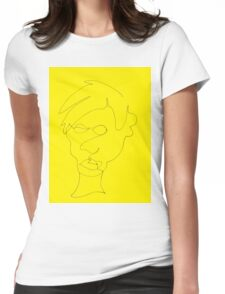 Warhol, A Portrait Womens Fitted T-Shirt