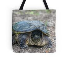 Snapping Turtle V Tote Bag