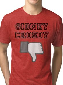 Crosby Dislike Gray Scale Tri-blend T-Shirt