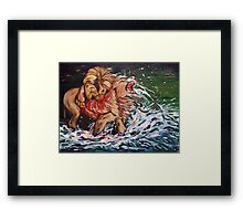 Wrath Framed Print