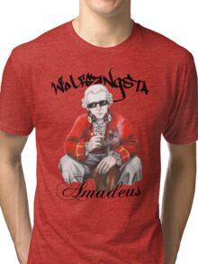Wolfgangsta Amadeus (black writing) Tri-blend T-Shirt