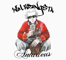 Wolfgangsta Amadeus (black writing) Unisex T-Shirt
