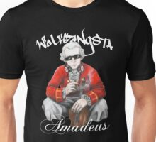 Wolfgangsta Amadeus (white writing) Unisex T-Shirt