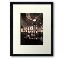 no place like Dome Framed Print