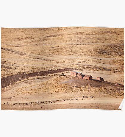 Farmhouse Altiplano Poster