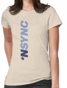 Nsync Hoodie Design Womens Fitted T-Shirt
