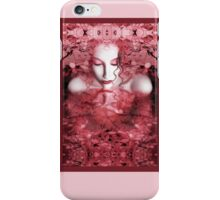 Red Autumn - Self Portrait iPhone Case/Skin