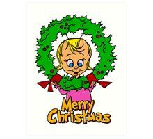 Merry Christmas Cindy Lou  Art Print