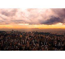 Belo Horizonte - The Cityscape from Above Photographic Print