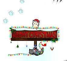 Meowy Christmas by jlechuga