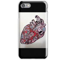 Sentimientos de Corazón iPhone Case/Skin