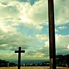 The Cross on The Pope's Square by ibadishi