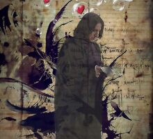 Severus Snape - I read you by scatharis