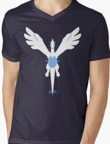 Silver Soul [Borderless] Mens V-Neck T-Shirt