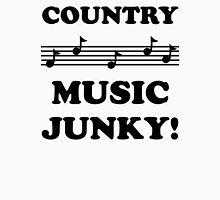 Country Music Junky 15BLA Unisex T-Shirt
