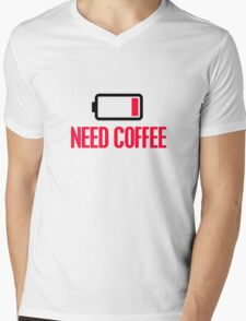 Need coffee Mens V-Neck T-Shirt