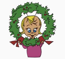 Cindy Lou Wreath Kids Tee
