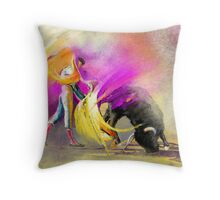 Toroscape 52 bis Throw Pillow
