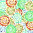 Pastel Pattern Frenzy by Tangerine-Tane