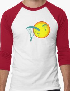 sun sky dive Men's Baseball ¾ T-Shirt