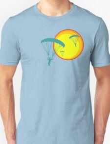 sun sky dive Unisex T-Shirt