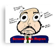 Bernanke the Ben Diagram Canvas Print