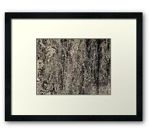 The pain is killing me #2 Framed Print