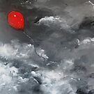 Red Balloon by Sally Ford